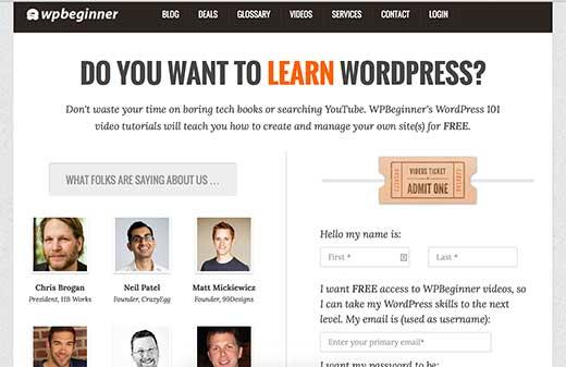 WPBeginner Videos - Free WordPress tutorials for beginners