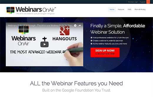Webinars OnAir