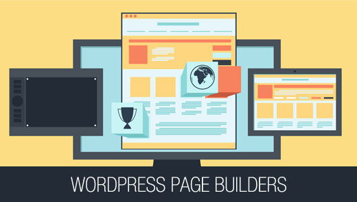 Drag and drop page builders for WordPress themes