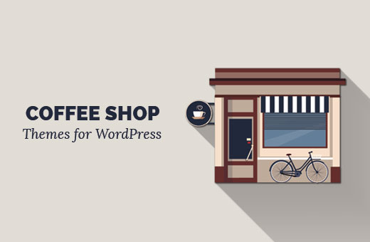 Coffee shop themes for WordPress