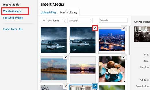 Tạo một bộ sưu tập hình ảnh cơ bản trong WordPress