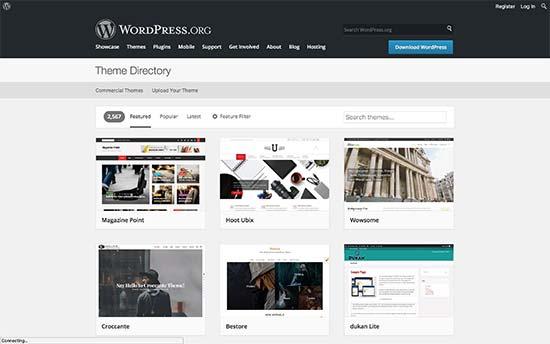 WordPress.org Themes