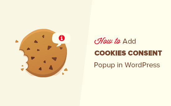 How to add cookies consent popup in WordPress