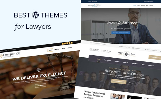 Best WordPress themes for lawyers and legal firms