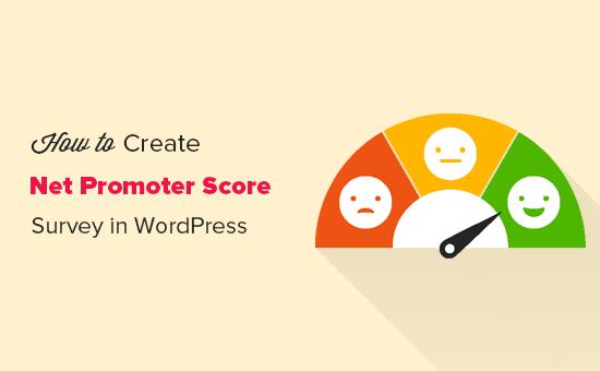 Creating Net Promoter Score survey in WordPress