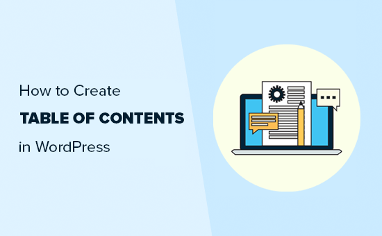 Adding table of contents to WordPress posts or pages