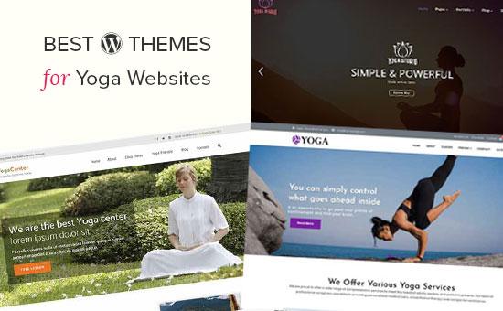 Best WordPress themes for yoga websites