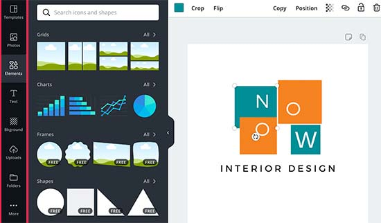 Adding elements to your design