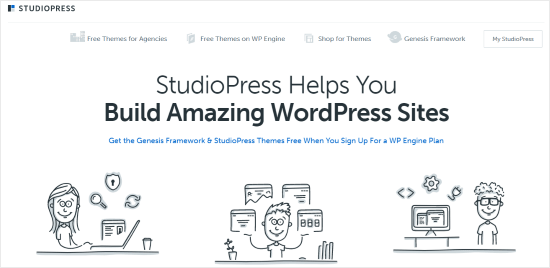 StudioPress Темы WordPress