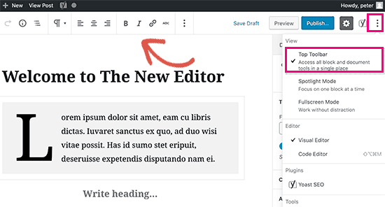 Tips Menguasai Content Editor di WordPress, Apa Yang Perlu ...