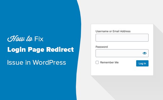 Memperbaiki masalah redirect halaman login dan refresh di WordPress