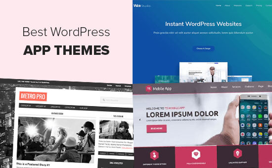 Best WordPress Themes for Apps