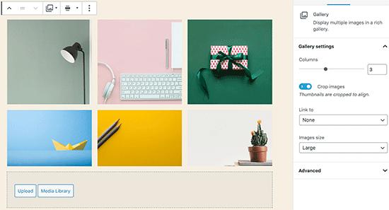 Een galerij toevoegen in WordPress