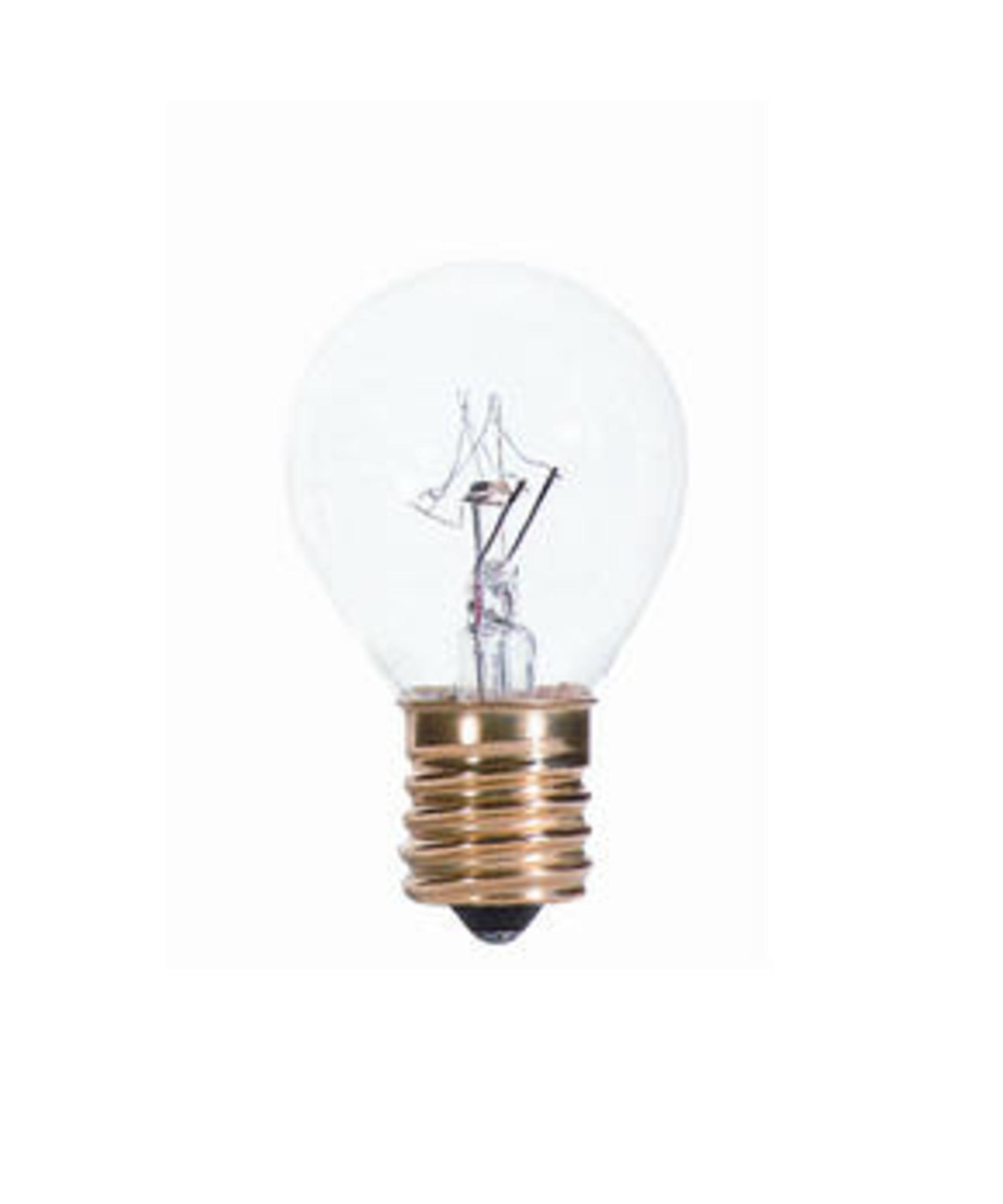 Bulbrite 40s11n C 40 Watt 120 Volt Clear High Intensity S11 Bulb