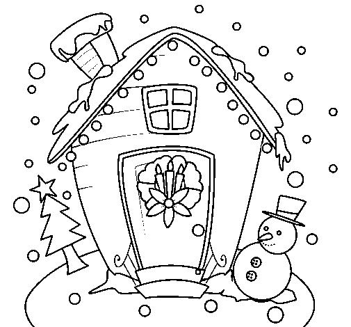 Scarica il template per fare le casette luminose e ricreare un paesaggio invernale natalizio. Disegno Cartolina Di Natale Colorato Da Utente Non Registrato Il 04 Di Dicembre Del 2011