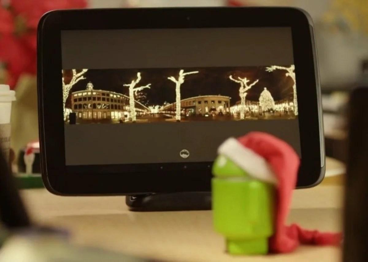 Nueva plataforma para Nexus 10 en mensaje navideño Google