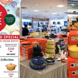 Le Creuset October 2020 Promos Sale Coupon Code Bq Sg Bargainqueen