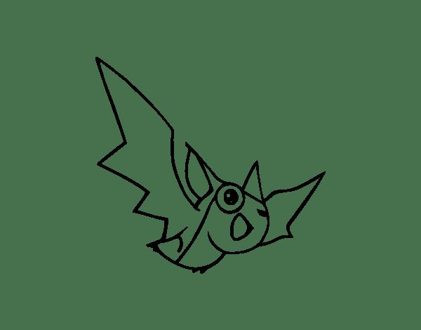 Bat Coloring Page Coloringcrew Com