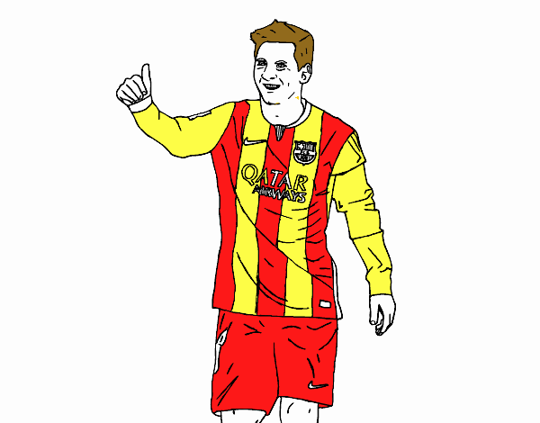 colored page messi barça painteduser not registered