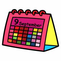 Calendario Dibujo Png.Calendario Escolar Colegio Publico San Felices De Bilibio