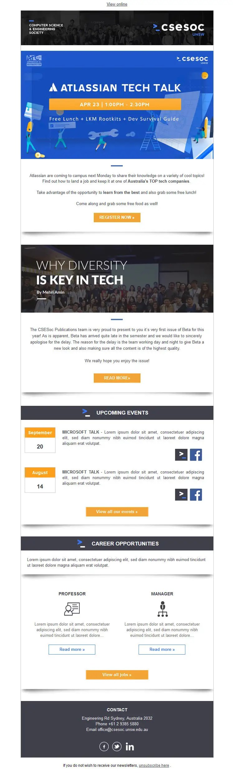 Html is to a website what a solid foundation is to a house. Entry 13 By Silvia709 For Code Up An Html Email Template Freelancer
