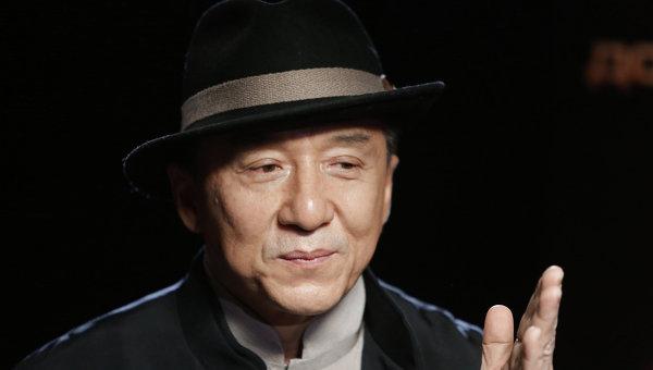 Актер Джеки Чан. Архивное