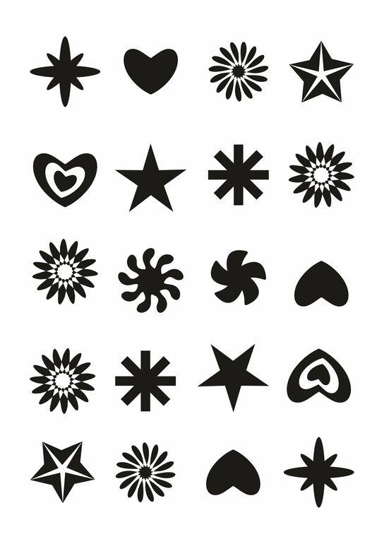 Маленькие Чёрно Белые Картинки