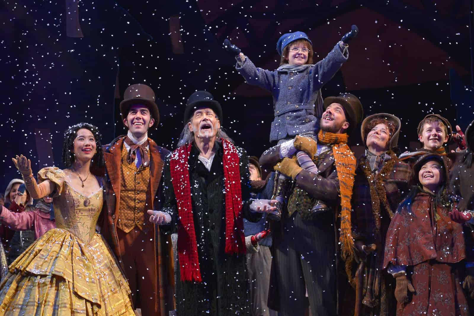 A Christmas Carol Cheers And Inspires At The Act