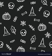 halloween background black and white