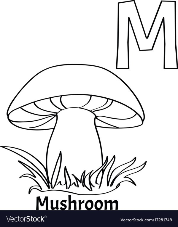 m coloring page # 13