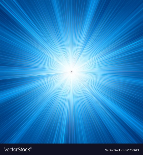 Blue star burst background Royalty Free Vector Image