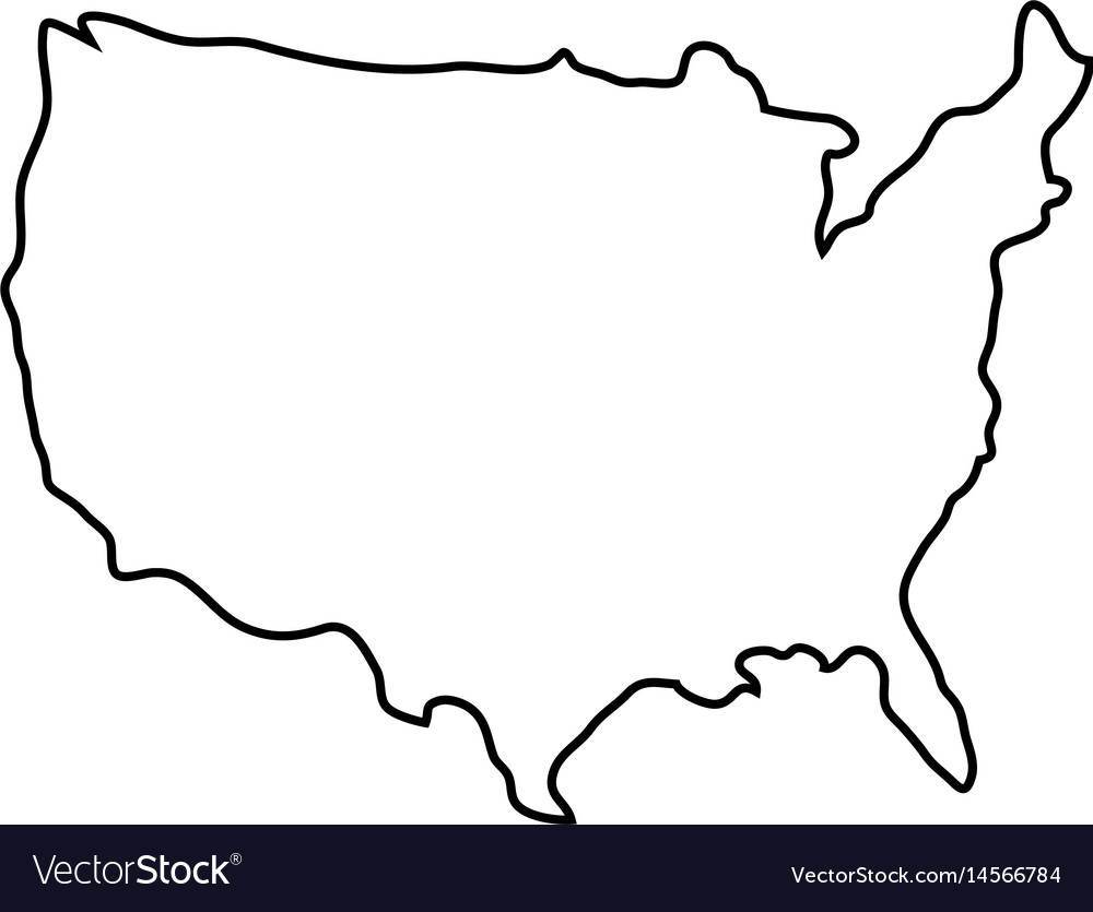 The world is full of cool landmarks and sites just waiting to be explored! Usa Country Map Icon Royalty Free Vector Image