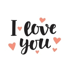 Download Love you more greeting card Royalty Free Vector Image