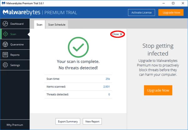 100 Использование диска - Malwarebytes - Windows Wally