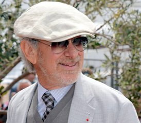 File - US director, producer and screenwriter Steven Spielberg at the Cannes Film Festival, France, May 2013.