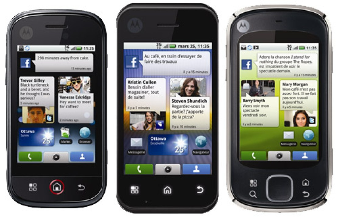 Motorola Quench - terrible Android phone names