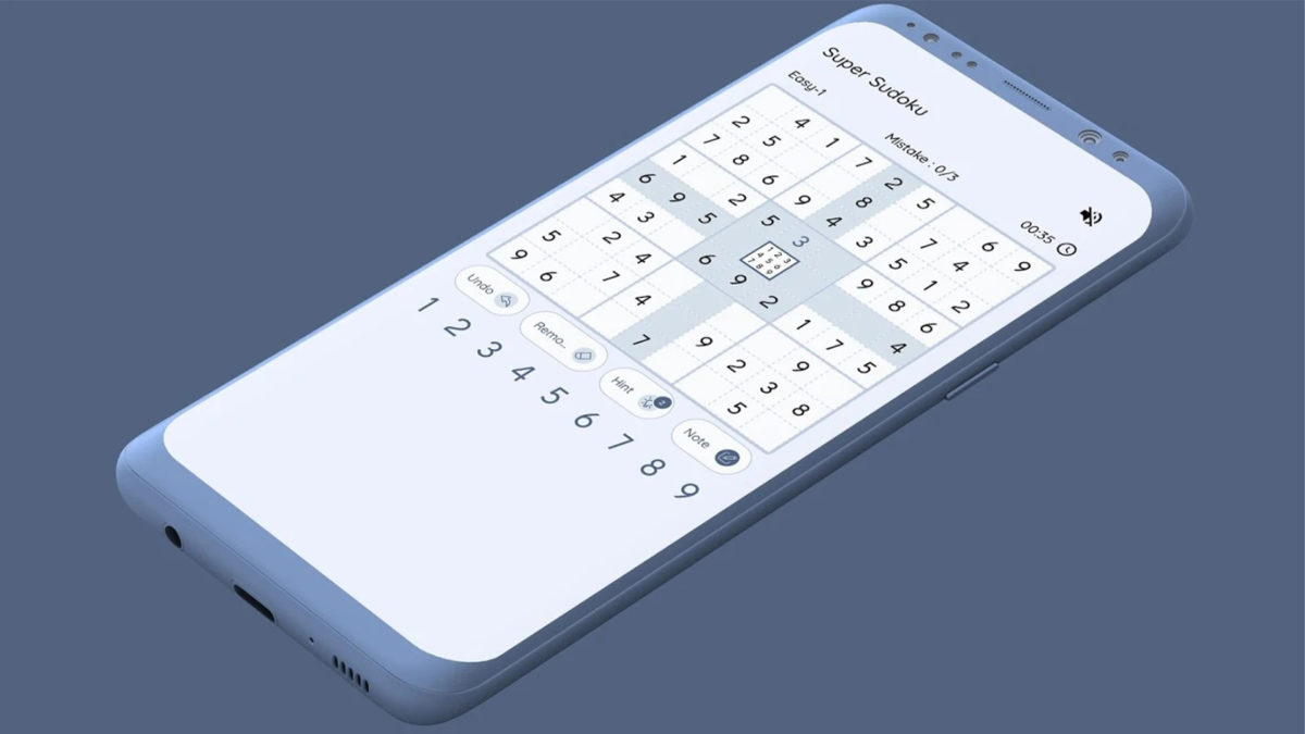 Super Sudoku best Sudoku apps and games for Android 1