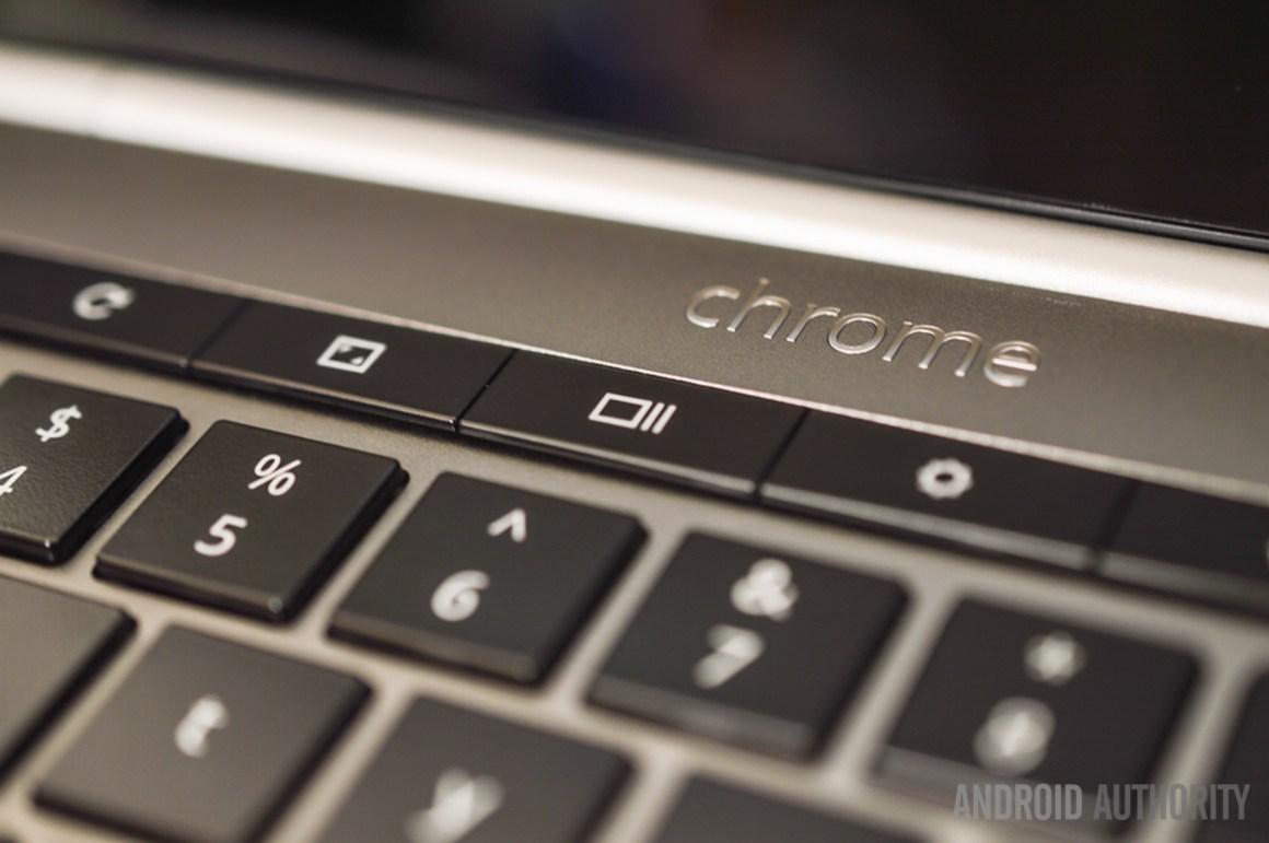 Создание снимка экрана на Chromebook с помощью клавиатуры