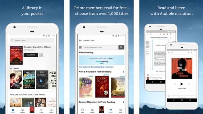 Amazon Kindle (or other ebook platforms)