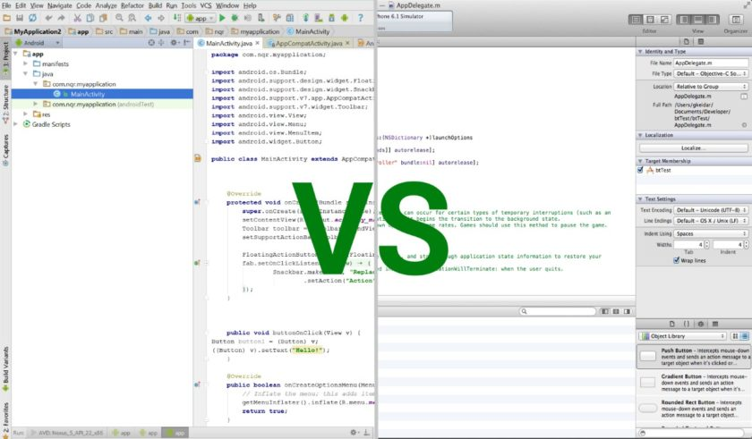 IOS vs Android mobile development