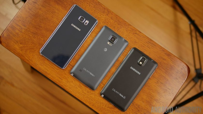 A history of Samsung's Galaxy Note series 1