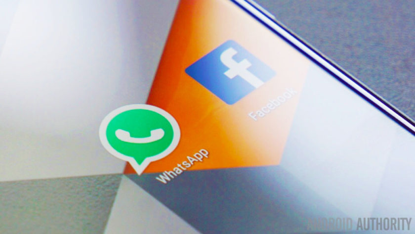 The WhatsApp logo on Android.