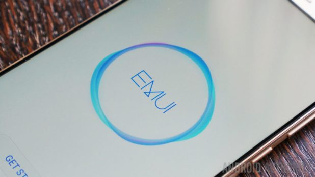 EMUI logo on a phone - what is EMUI