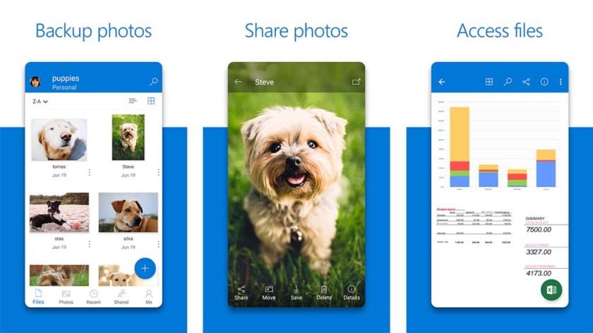 Microsoft OneDrive - лучшие облачные сервисы хранения