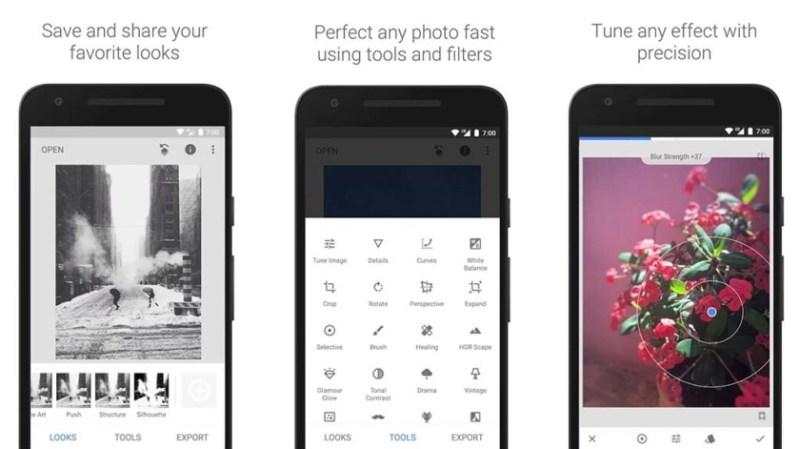 best DSLR apps - Snapseed