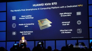 Huawei announces the Kirin 970  new flagship SoC with AI