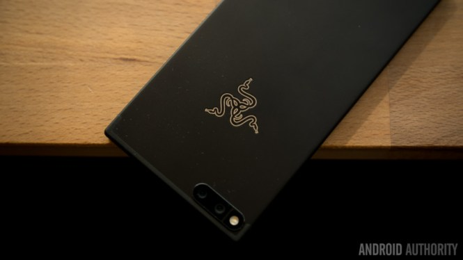 The back of the Razer Phone.