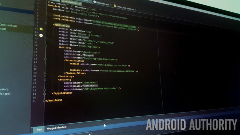 android studio code