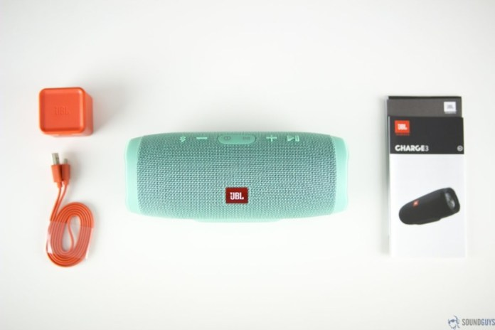best father's day tech gifts - JBL Charge 3