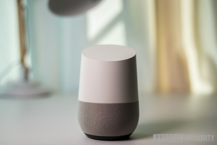 The Google Home smart speaker